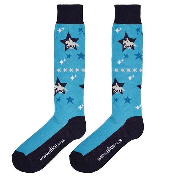 Elico Star Horse Socks (4-8)