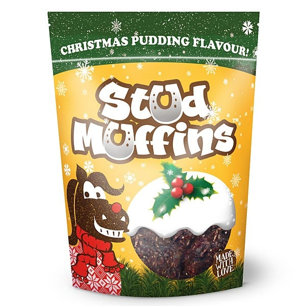 Stud Muffins:Christmas Pudding