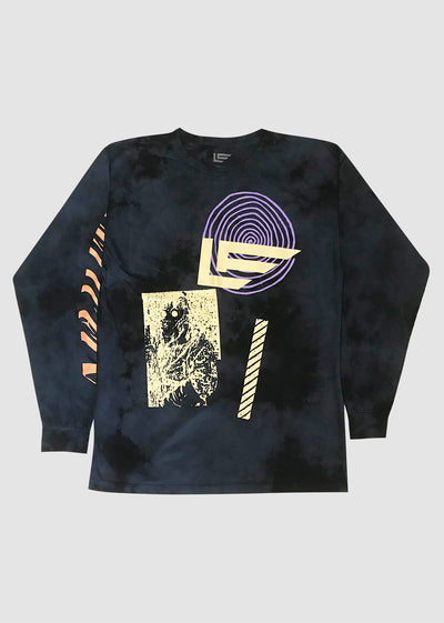 Stay Wavy Long Sleeve Tee - Front