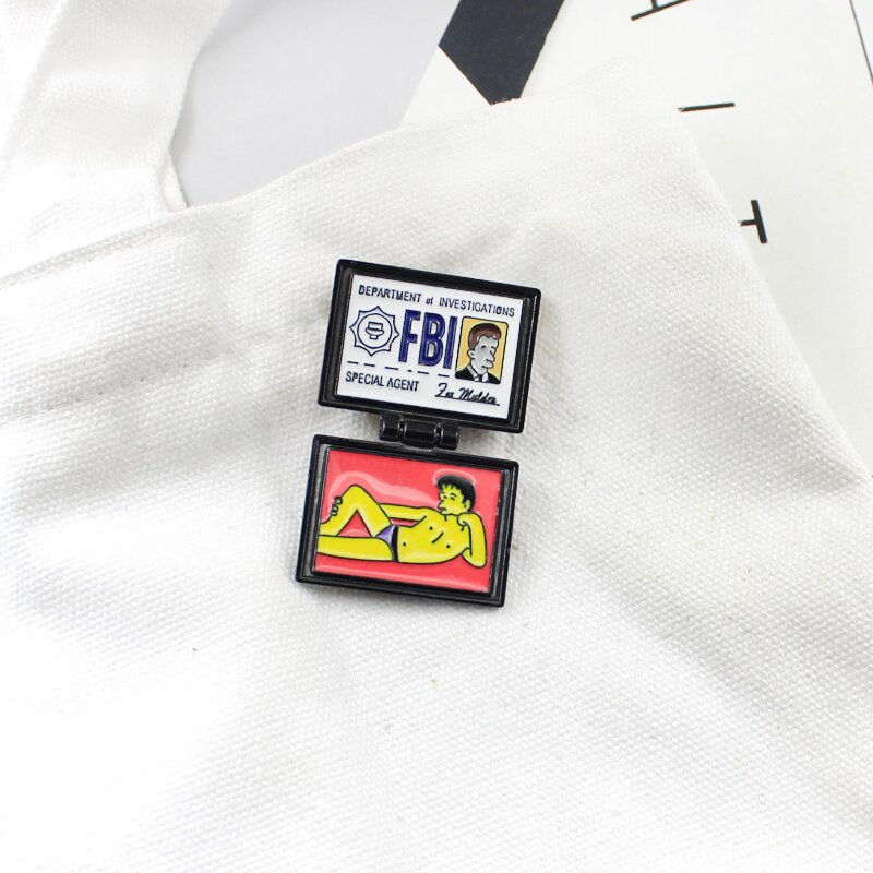 FBI Fox Mulder ID Card