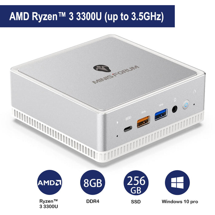 COOFUN Mini Pc Desktop best gaming  intel office Win10,Mini computer