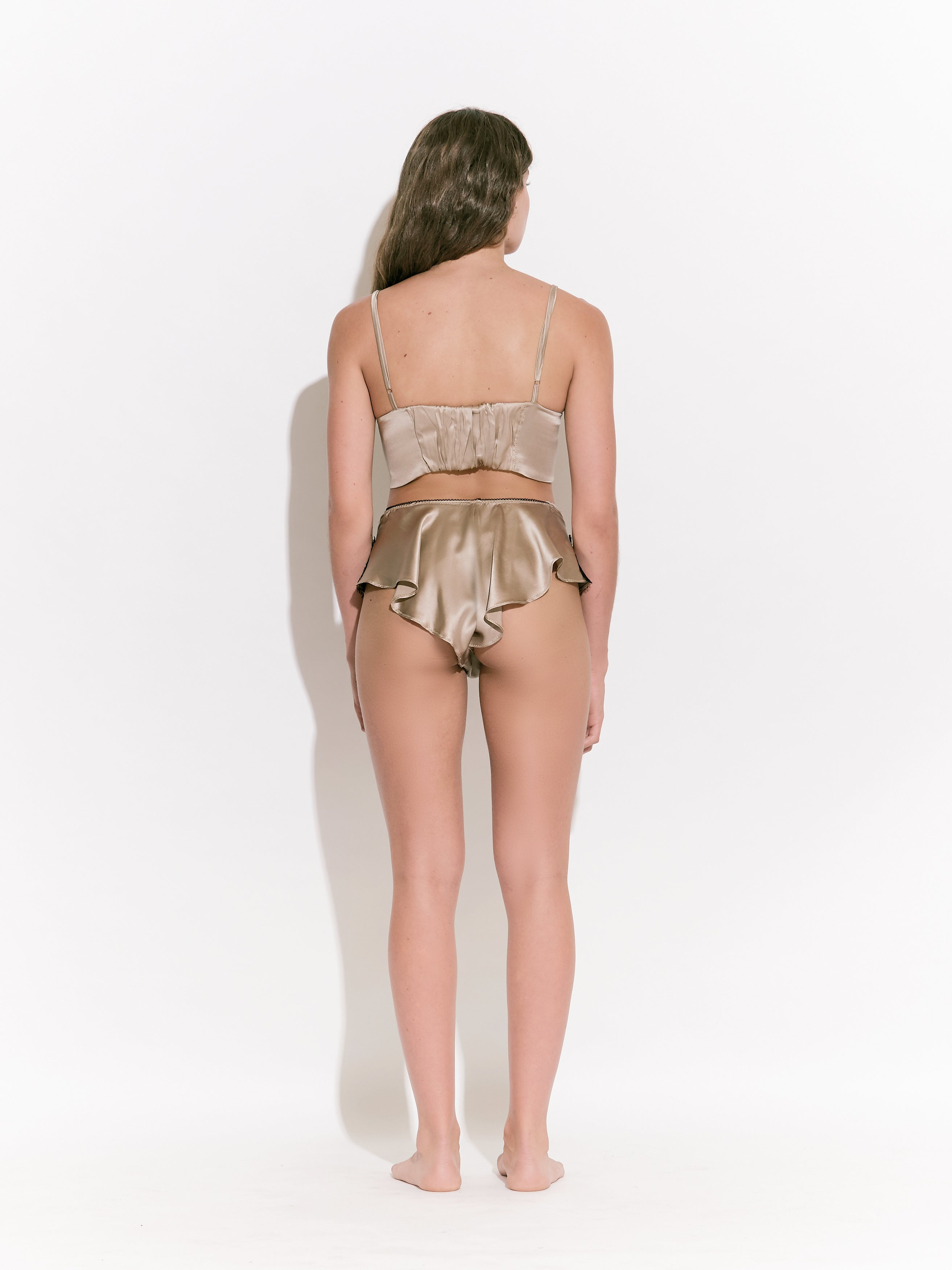 Inara Silk French Knicker