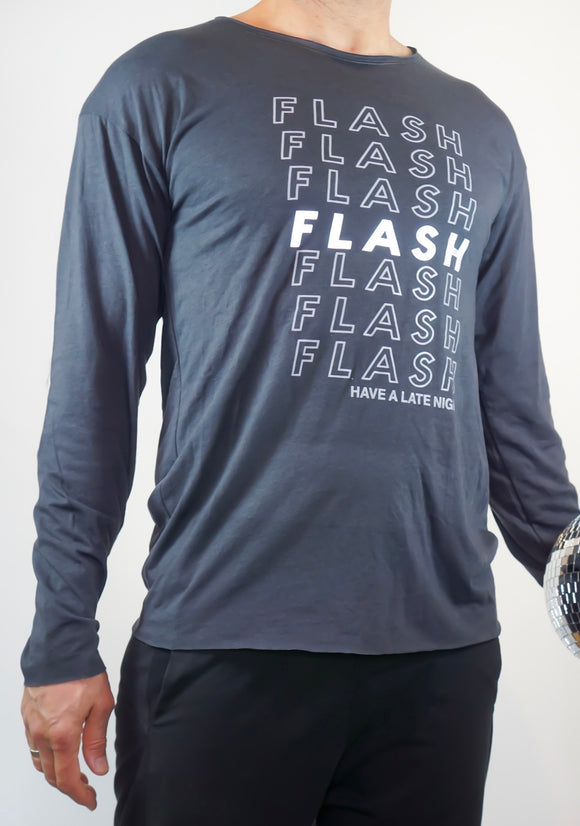 1501 Grey - Flash Bags unixes longsleeve