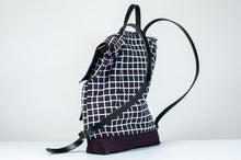 Load image into Gallery viewer, The Grid Backpack in Black
