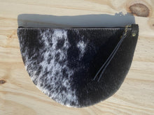 Load image into Gallery viewer, The Fur on Hide - Half Moon Zip Pouch