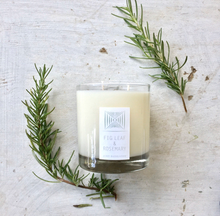 Load image into Gallery viewer, Fig Leaf & Rosemary Rustic Candle