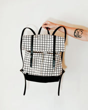 Load image into Gallery viewer, The Grid Backpack in White