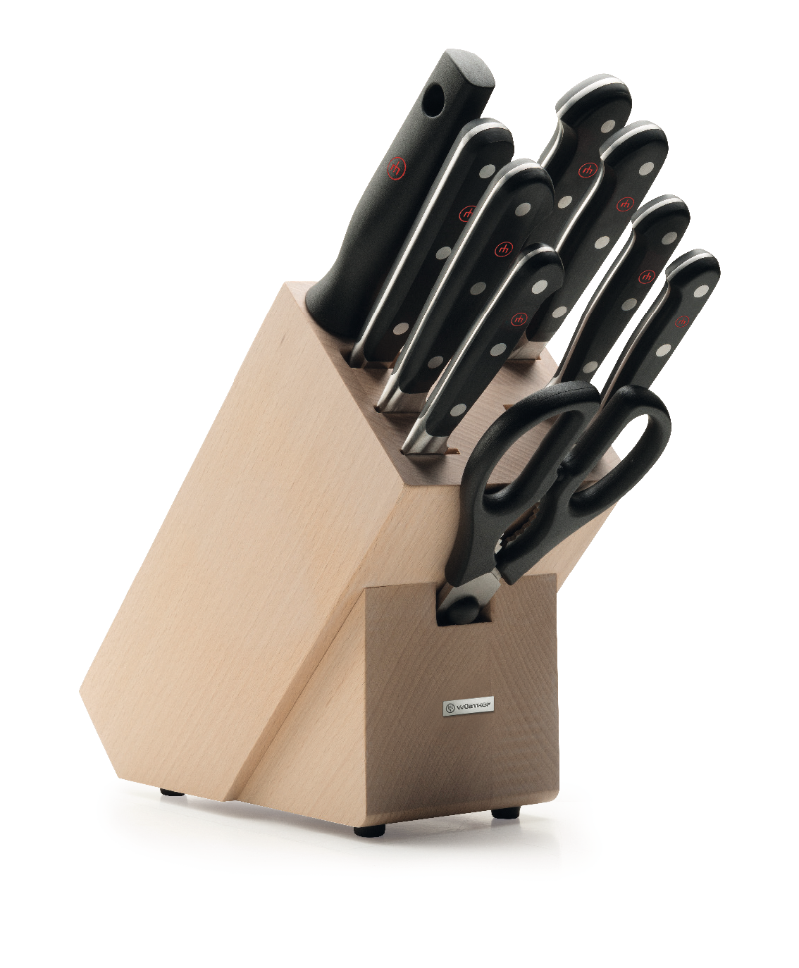 WUSTHOF CLASSIC KNIFE BLOCK SET 9 PIECES