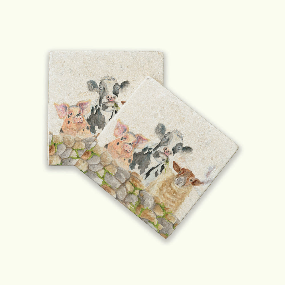 FARMYARD THE KENSINGTON COLLECTION COASTERS