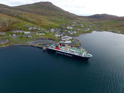 Barra Gin links up with Calmac
