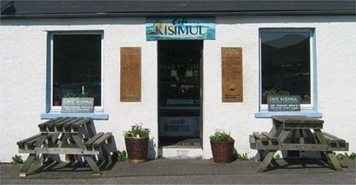 Café Kisimul on the Isle of Barra!