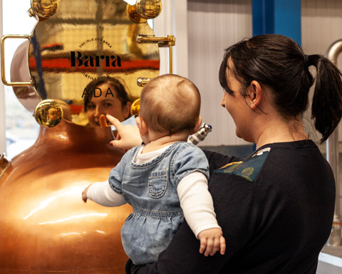 Barra Gin ADA copper still