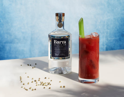 red snapper barra gin cocktail