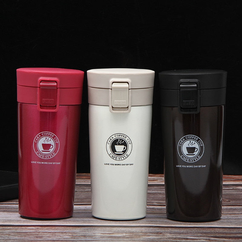 Portable Thermos Coffee Mug