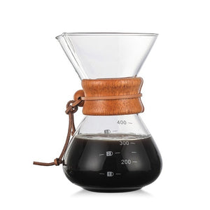 High Temperatures Glass Coffee Maker