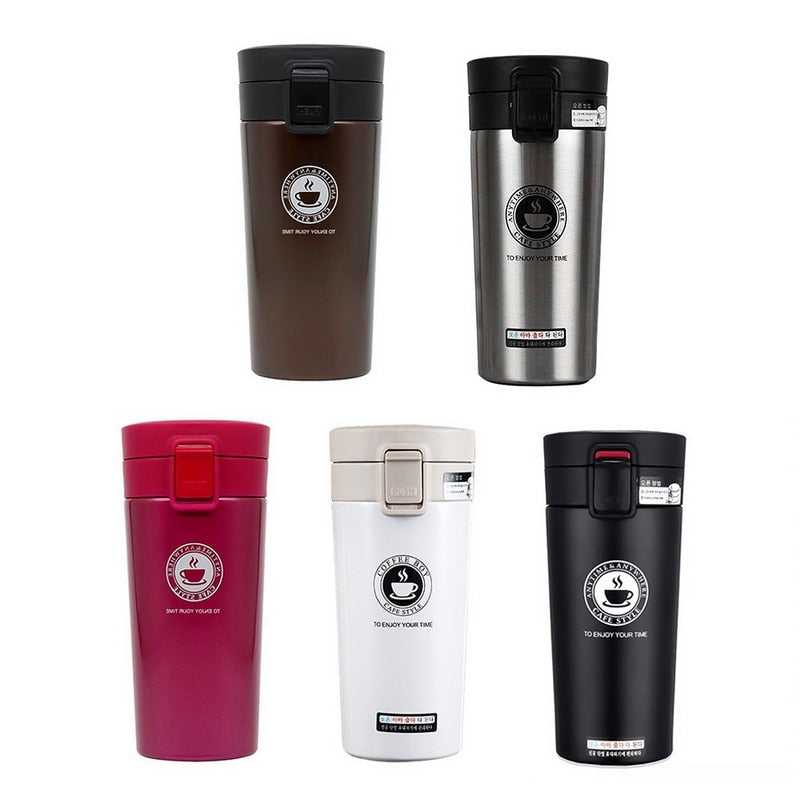 Stainless Steel Thermos Tumbler Cups
