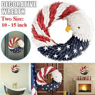 Handcrafted American Eagle Wreath