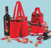 GiftPants - Santa Pants Wine and Treats Bag