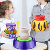 LilPotter - Pottery Wheel Studio Kit for Kids