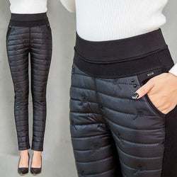 ThermoPlus - High Waist Winter Down Pants