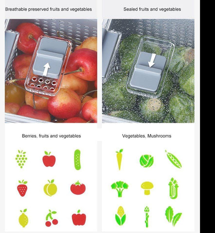 FreshKeep - Multifunctional Produce Fresh Keeping Storage Box