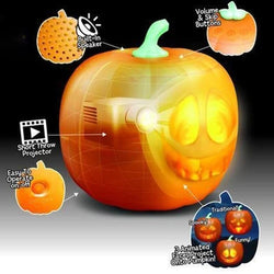 Pumpkin Alive - Halloween Talking & Singing Animated LED Pumpkin