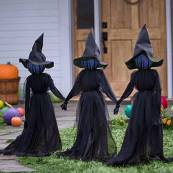 TheCoven - Halloween Witch Decoration Set