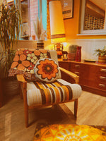 Load image into Gallery viewer, PRE-ORDER California Poppy - Woven Throw