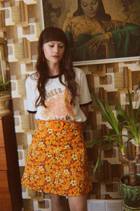 Sonny Skirt - California Poppy