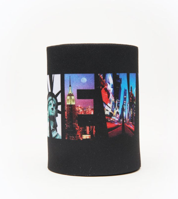 Beer Can Koozie New York Photos