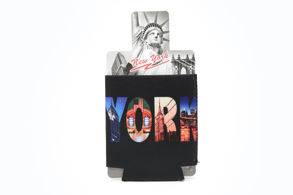 Beer Bottle Koozie New York City Photos