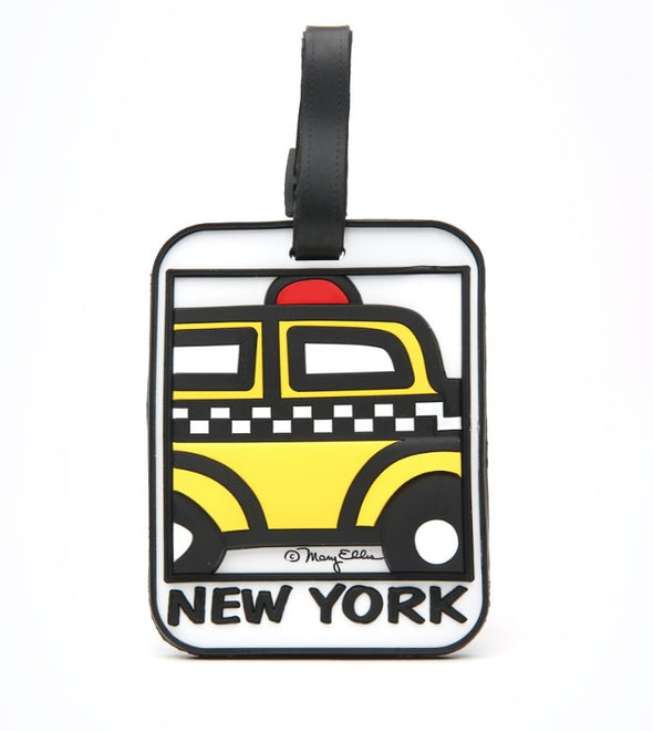 New York Taxi Luggage Tag