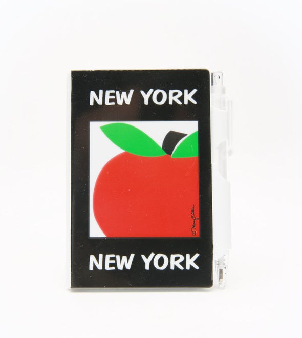 Mini New York Apple Notebook with Pen
