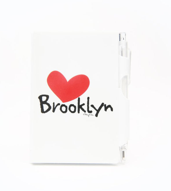 Mini Brooklyn Heart Notebook with Pen
