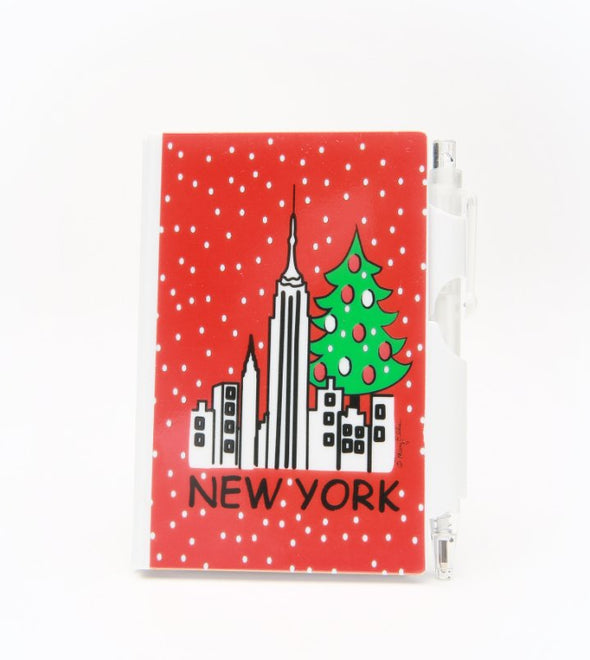 Mini Christmas Notebook with Pen