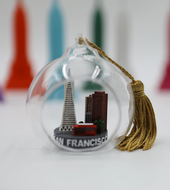 65mm San Francisco Skyline Ornament