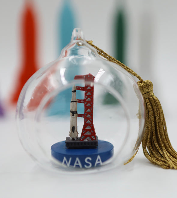 Nasa Terrarium Ornament