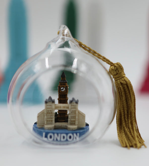 London Skyline Terrarium Ornament