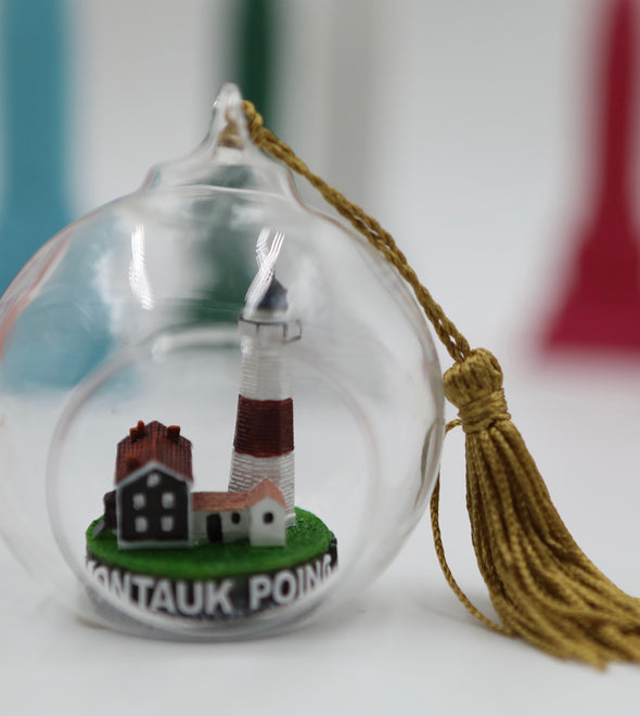 Montauk Lighthouse Terrarium Ornament