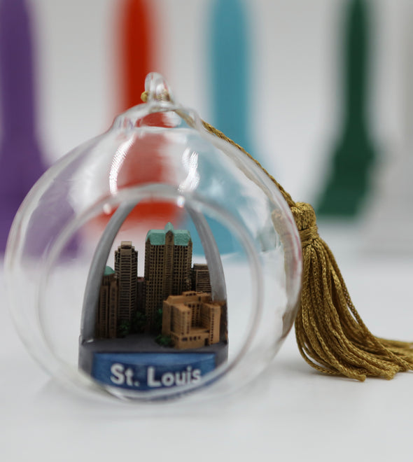 65mm St. Louis Terrarium Ornament