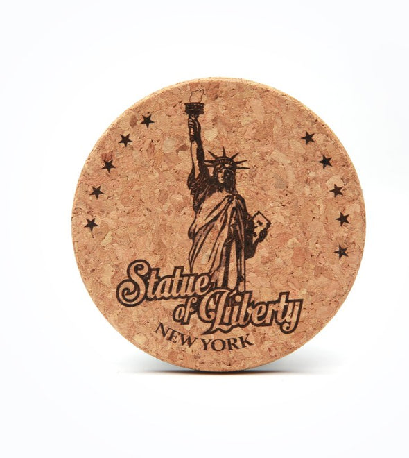Statue of Liberty New York Cork Coaster