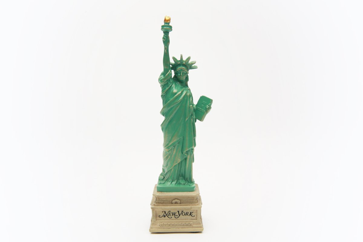 6 Inch Statue of Liberty Short Base