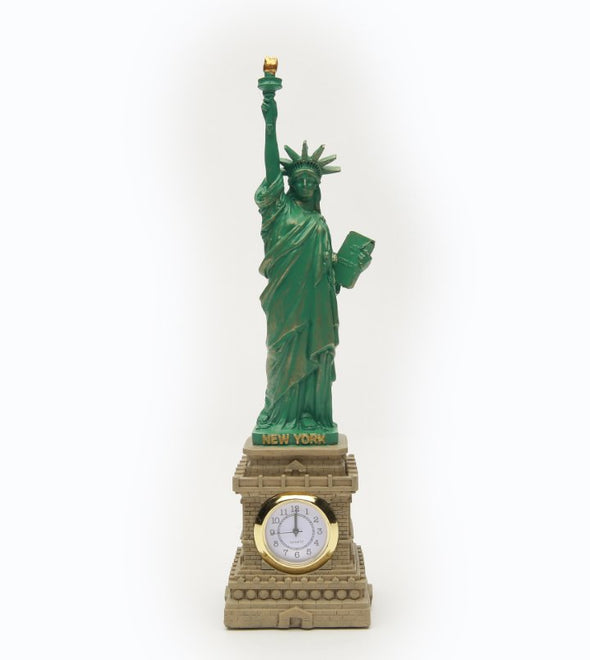 Statue of Liberty with Clock 8.5 Inch
