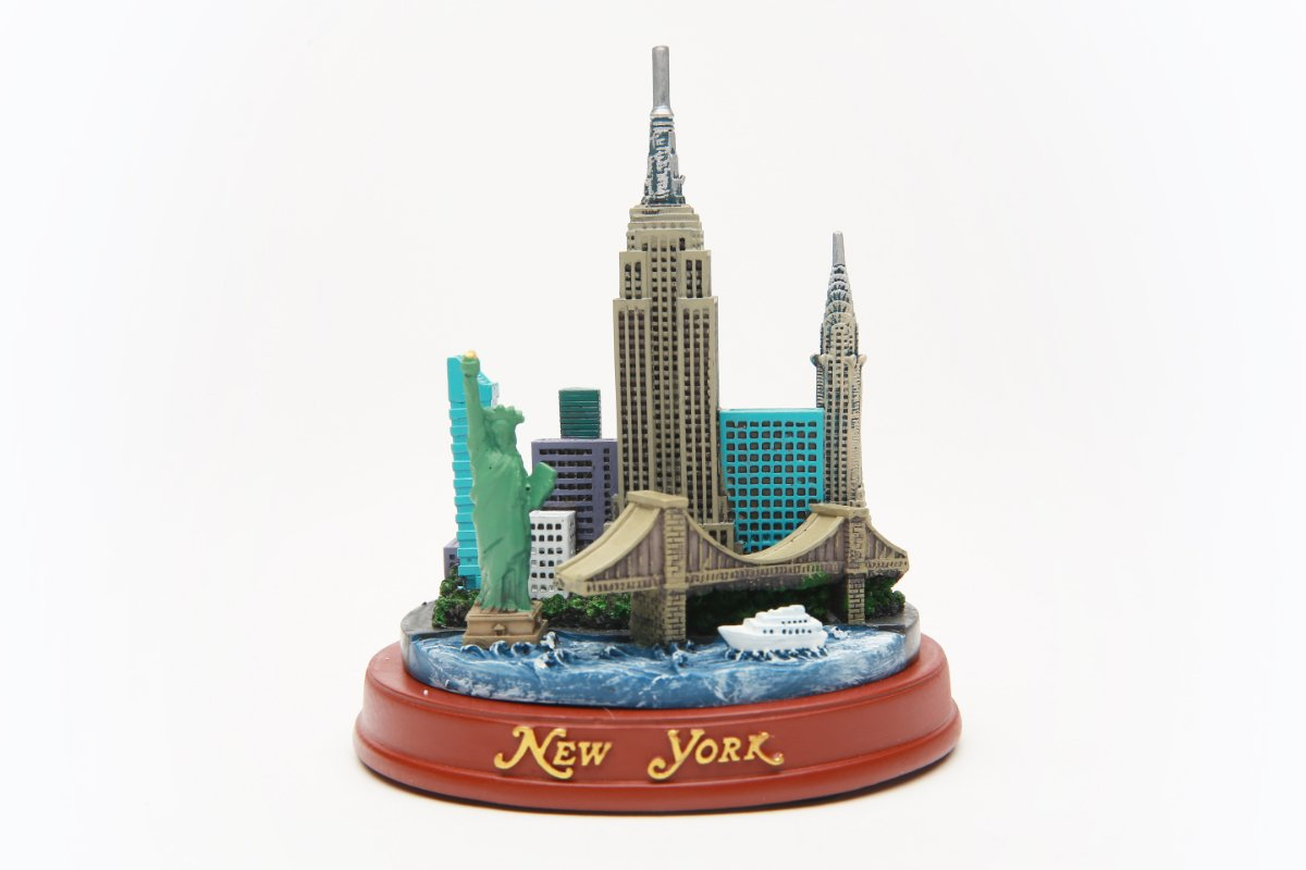NYC Souvenir Skyline Landmark