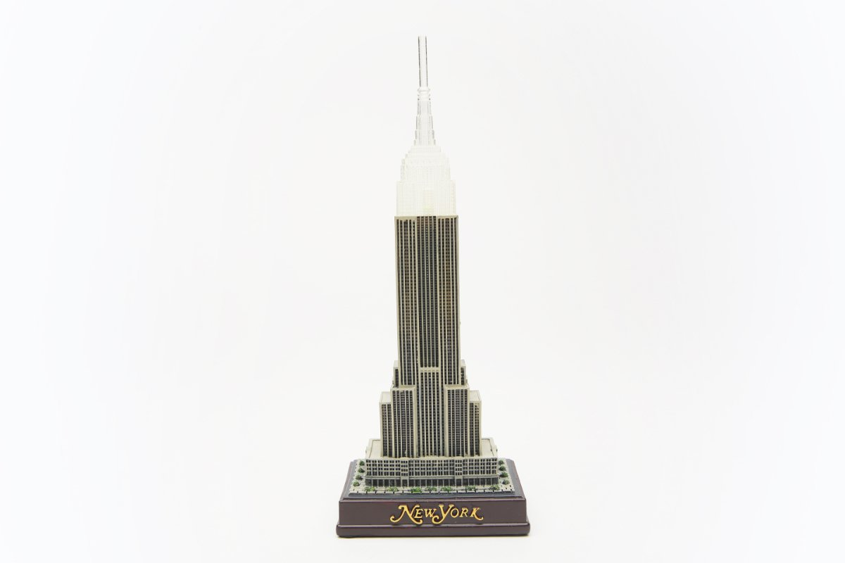 10 Inch Light-Up Empire State Building Replica