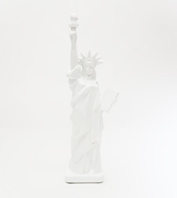 "6"" Statue of Liberty Geometric White"