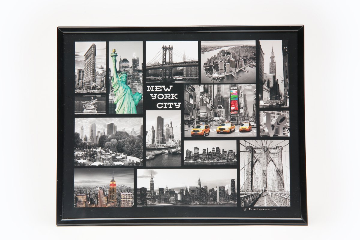 Collage of Photos in Frame