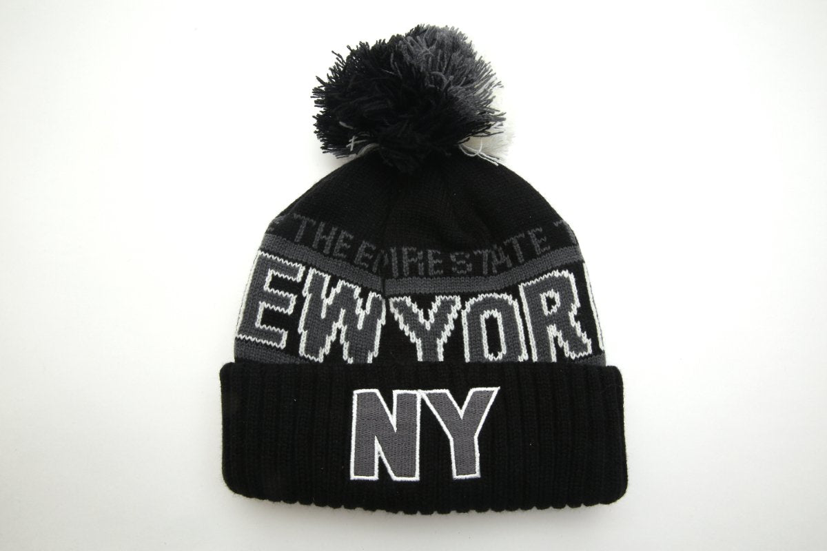 New York Empire State Grey Winter Hat