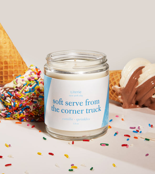 Soft Serve from the Corner Truck Candle