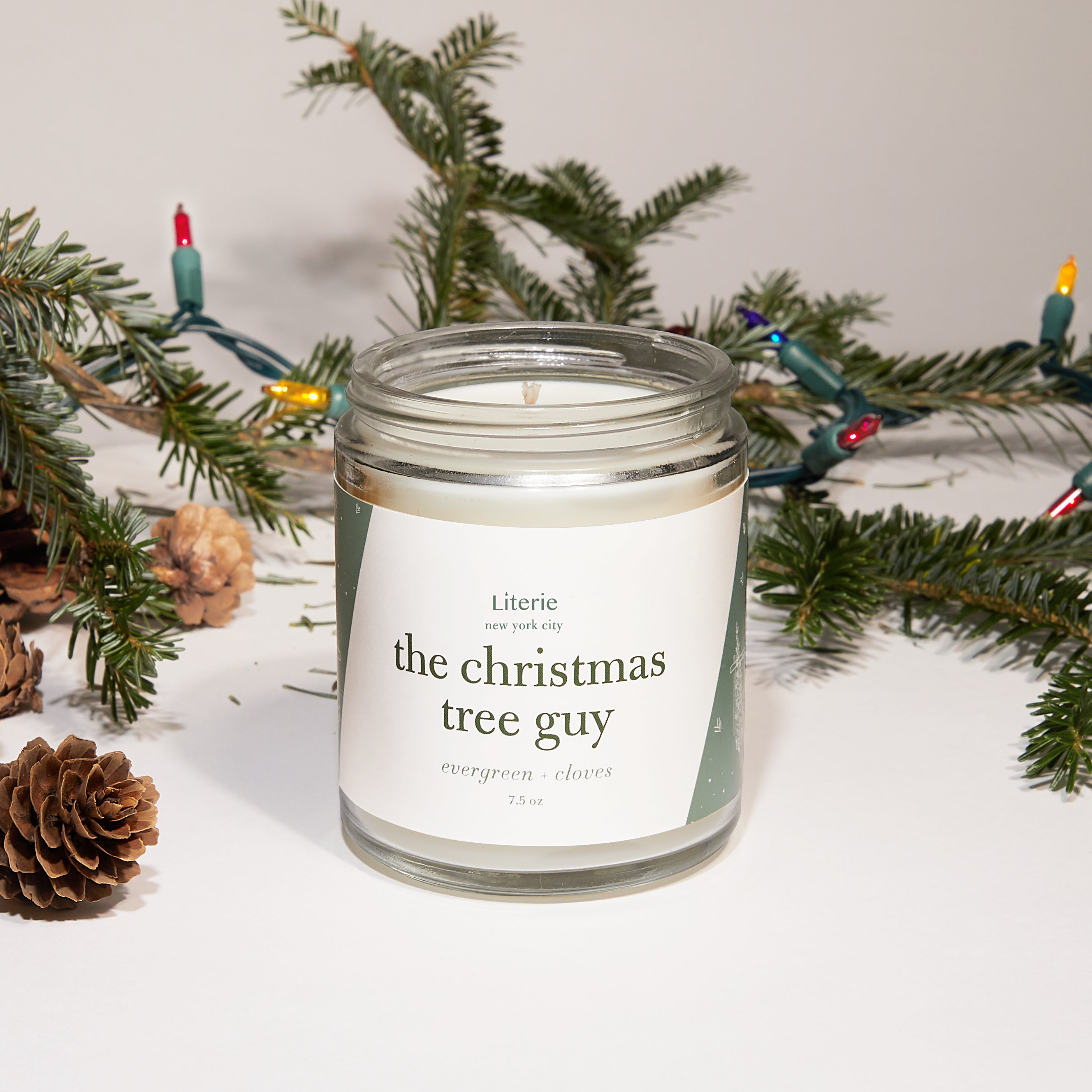 The Christmas Tree Guy Candle